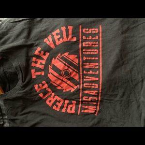Hot Topic Tops - Pierce the Veil band tee Merch Hot Topic punk